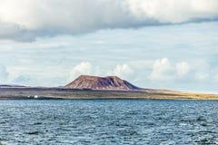 Volcano in fuerteventura Stock Images