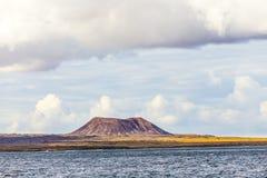 Volcano in fuerteventura Stock Photo