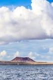 Volcano in fuerteventura Stock Photography