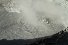 Volcano fumarolas, Bolivia. Stock Photos