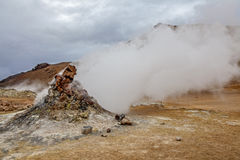 Volcano fumarole in Iceland3 Royalty Free Stock Photography