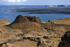 Volcano - Galapagos Islands stock photography