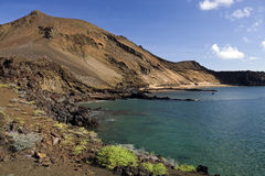 Volcano - Galapagos Islands Stock Photo