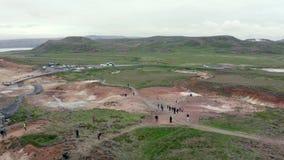 Volcano Geothermal Volcanic Activity stock video