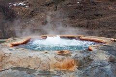 Volcano geyser Royalty Free Stock Photo