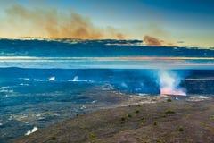 Volcano glow Stock Photography