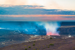 Volcano glow Royalty Free Stock Photos