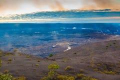Volcano glow Stock Photos