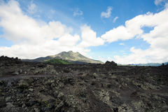 Volcano Gunung batur Royalty Free Stock Photo