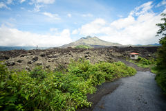 Volcano Gunung batur Royalty Free Stock Photo