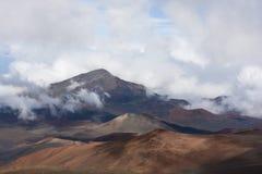 Volcano Haleakala National Park Maui Arkivbild