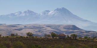 Volcano Hasan Dagi in Turkey Stock Images