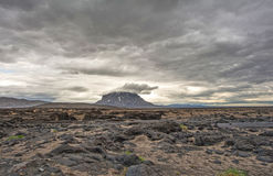 Volcano herdubreid in Iceland. Stock Photography