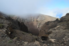 Volcano Hoyo Negro on La Palma, Canary Islands Stock Photography