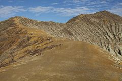 Volcano Ijen Royalty Free Stock Photo