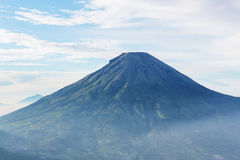 Volcano in Indonesia Royalty Free Stock Photo