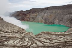 Volcano Indonesia Royalty Free Stock Image