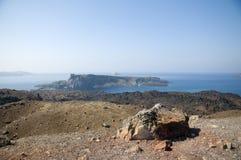 Volcano island Stock Image