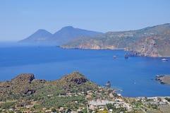 Volcano island. Stock Image