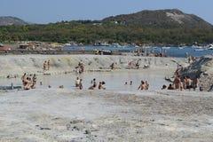 Volcano Island Sicily Royalty Free Stock Photos