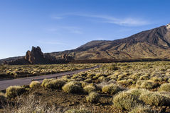 Volcano Island (Tenerife, Canaries, Spain) Royalty Free Stock Photography