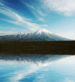 Volcano on Kamchatka Stock Images