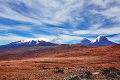 Volcano of Kamchatka Royalty Free Stock Images