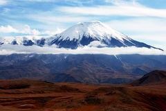 Volcano of Kamchatka Royalty Free Stock Photography