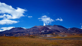 Volcano of Kamchatka Royalty Free Stock Photos