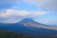 Volcano Kintamani on Bali. Volcano Kintamani and lake Batur on Bali island Stock Images