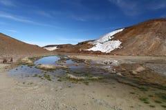 Volcano Krafla, Iceland Royalty Free Stock Photography