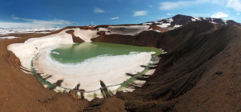 Volcano Krafla, Iceland Stock Images