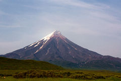 Volcano Kronotsky, Russia Royalty Free Stock Image