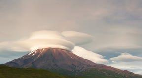 Volcano Kronotsky, Russia Stock Photos