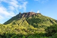 Volcano La Soufrière ! images libres de droits