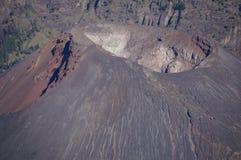 Volcano in lake Royalty Free Stock Photo
