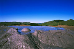 Volcano landscape Stock Photo