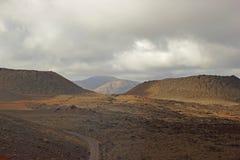 Volcano landscape, Lanzarote Stock Images