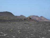 Volcano in Lanzarote Royalty Free Stock Photos