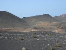 Volcano in Lanzarote Stock Photos