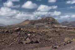 Volcano, Lanzarote, Spain Stock Image