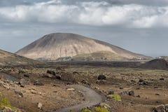 Volcano, Lanzarote, Spain Royalty Free Stock Photo