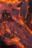 Volcano Lava arkivbilder