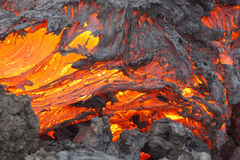 Volcano Lava Royalty Free Stock Photography