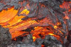 Volcano Lava Royalty Free Stock Photography