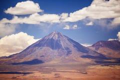 Volcano licancabur near San Pedro de Atacama Stock Images