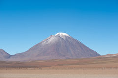 Volcano Lincancabur, Bolivia Royalty Free Stock Photos