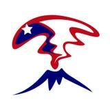 Volcano Logo Photos libres de droits