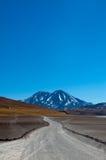 Volcano Miscanti. At Atacama Desert - San Pedro de Atacama, Chile Stock Photography