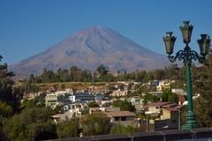 Volcano Misti Royalty Free Stock Images
